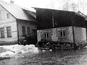 Sbor dobrovolných hasičů Loužnice. Povodně leden 1976.