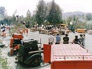 Sbor dobrovolných hasičů Loužnice. 100. výročí v roce 1986.