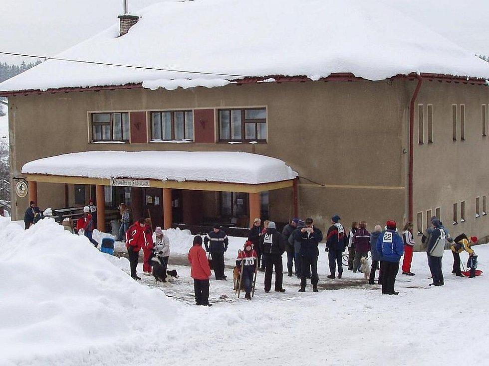 Sbor dobrovolných hasičů Loužnice. Sokolka Cup 2009. Závody na saních.