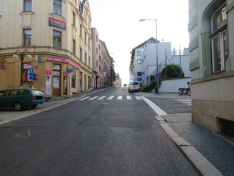 Osudná křižovatka v Jablonci.
