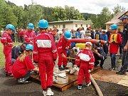 Sbor dobrovolných hasičů Loužnice. Závody ve Zlaté Olešnici.