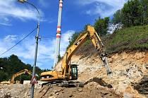 Rekonstrukce tramvajové trati v Jablonci
