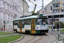 Do Jablonce dorazila první tramvaj po šestnácti měsících