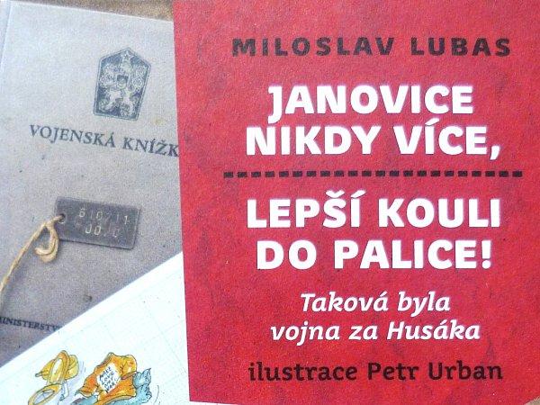 KNIHA JANOVICE NIKDY VÍCE, LEPŠÍ KOULI DO PALICE by se dala označit rovněž jako dílo, ohraničené jedním krajem. Ilustrátor pochází ze Smržovky, autor knihy Miloslav Lubas se narodil a dlouho žil vnedalekých Plavech.