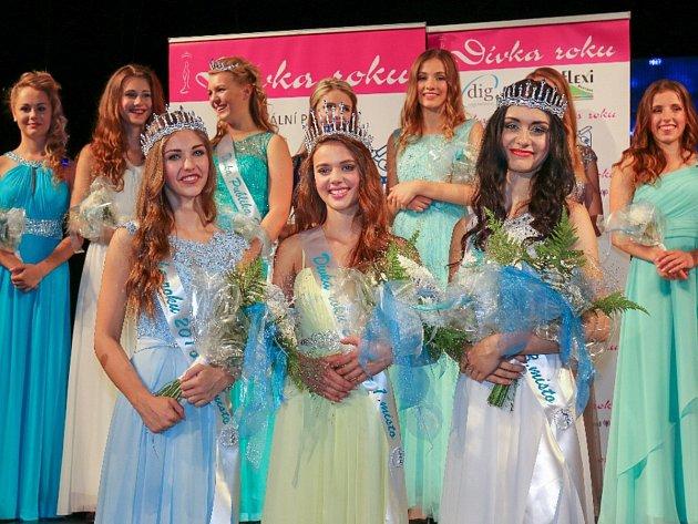 Zvítězila Gabriela Gášpárová z Velké Bíteše. Druhou příčku obsadila Nicole Barnová z Ostravy(15 let) a třetí Adéla Siročáková z Ostravy (15 let).