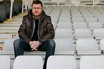Trenér juniorky Jablonce Jiří Hloušek.