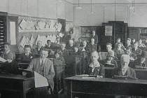 Německá čítárna.