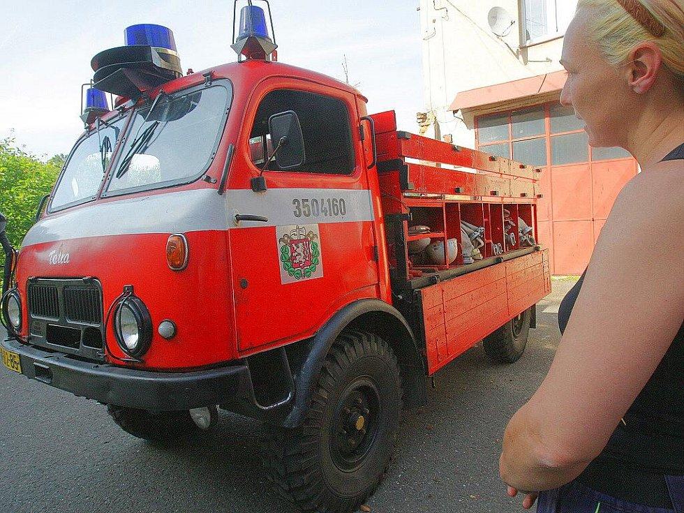 Sbor dobrovolných hasičů Smržovka. Den otevřených dveří v hasičárně.