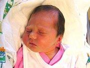 Nela Hloucalová se narodila Janě a Josefovi Hloucalovým z Jenišovic 30. 8. 2016. Měřila 46 cm a vážila 2690 g