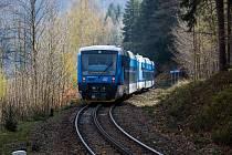 Ozubnicová trať Tanvald - Harrachov.