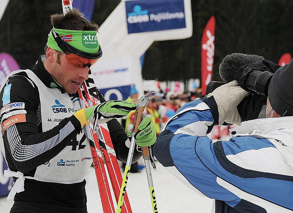 Jizerská padesátka 2011. 44. Jizerskou padesátku vyhrál norský běžec Anders Auckland.