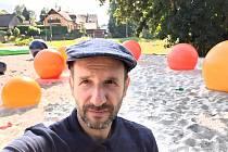David Jelínek v parku