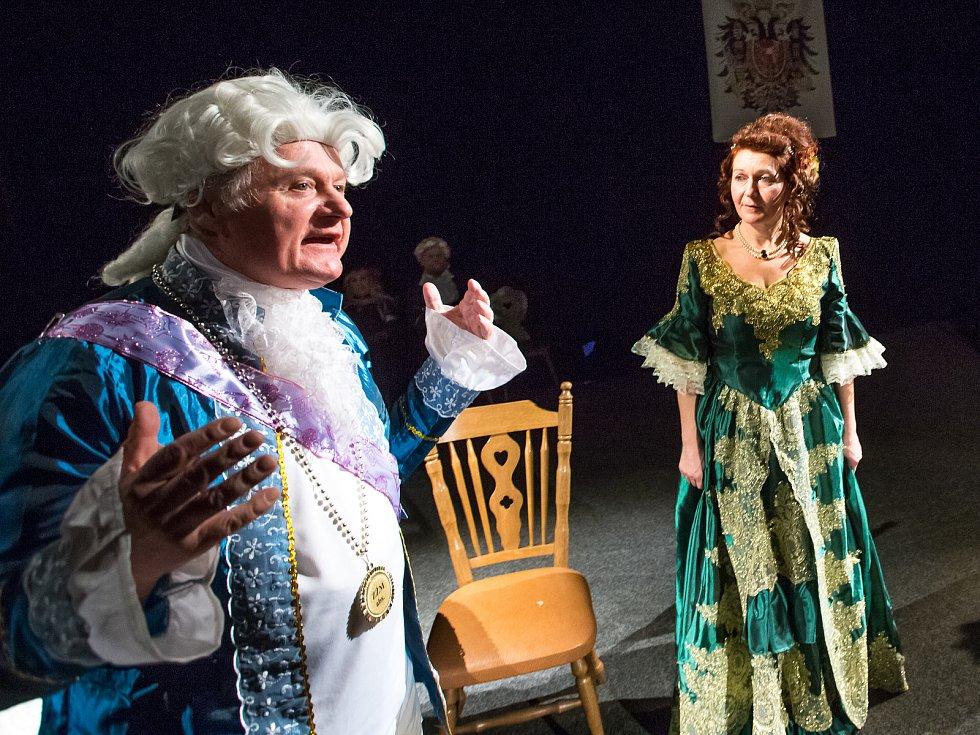 Premiéra divadelní hry Gustava Skály v podáni Studia Hamlet Železný Brod