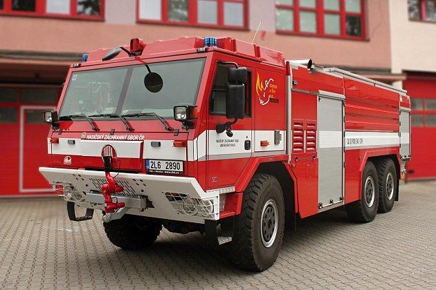 Výročí 50let od založení slaví profesionální hasiči ze stanice Semily.