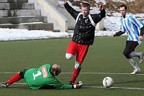 Stráž se dostala rychle do dvoubrankového vedení, které dokázali fotbalisté Camel Jablonec srovnat v 66. minutě na 3:3.