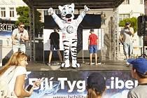 Tygří roadshow v Jablonci