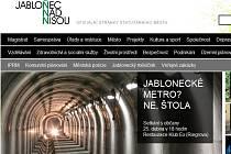 Webové stránky města Jablonec.