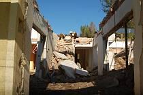 Z domu nezbyly ani ruiny