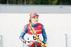 Gabriela Koukalová má další medaili, stříbrnou