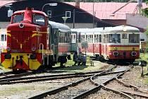 Trať z Tanvaldu do Kořenova slavila v roce 2012 výročí 110 let od zahájení pravidelného provozu