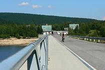 Josefodolská přehrada loni v létě.
