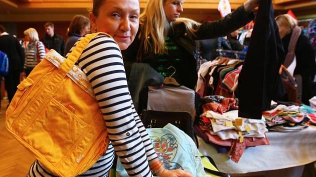 Benefiční bazar Báry Basikové přijede do Jablonce poprvé, ale v sousedním Liberci již tato charitativní akce proběhla už dvakrát.