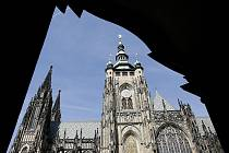 Chrám sv. Víta v Praze.