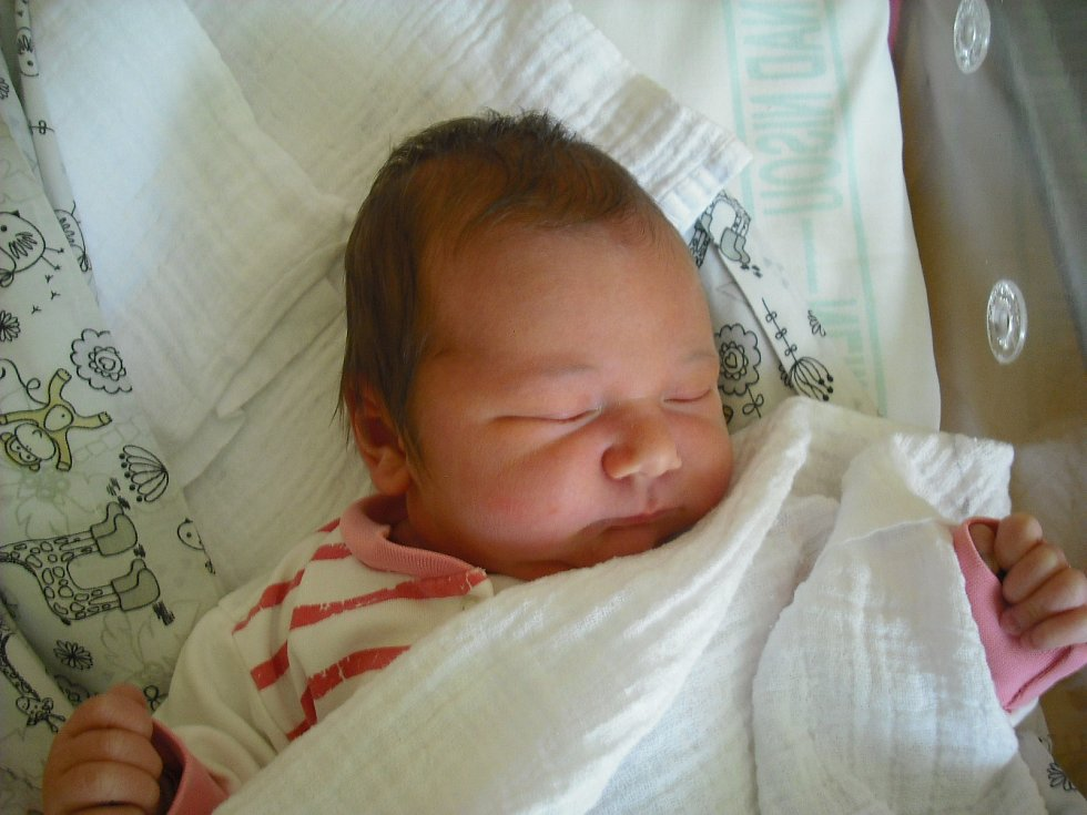 Nella Ester Kumpoltová. Narodila se 21.února v jablonecké porodnici mamince Kristýně Hlaváčkové ze Žandova u České Lípy.Vážila 3,83 kg a měřila 51 cm.