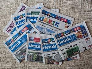 Jablonecký deník. Ilustrační foto.