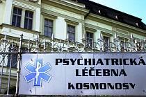 Psychiatrická léčebna Kosmonosy.