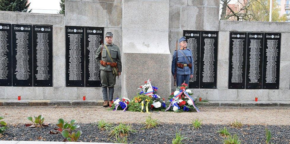 Oslavy ke 100. výročí ukončení první světové války.