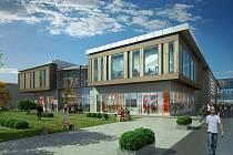 OBCHODNÍ DŮM CENTRAL. To by chtěl postavit investor Crestyl Properties. Podle původních plánů už měl dávno začít.