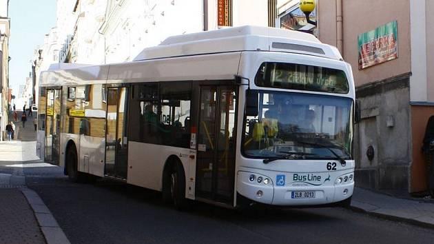 Městská hromadná doprava v Jablonci nad Nisou. Ilustrační fotografie.