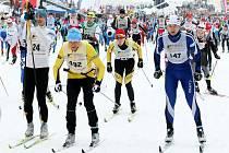 43. Jizerské padesátky se zúčastnilo přes pět tisíc běžkařů.