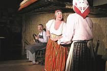 Ukázka z představení na tanvaldské soutěži O zlatý člunek