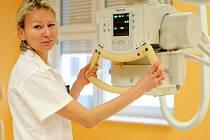 Instalace nového rentgenu v jablonecké nemocnici.