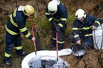 V pondělí 22. listopadu kolem půl deváté ranní došlo k havárii osobního automobilu v blízkosti vodní nádrže Souš.