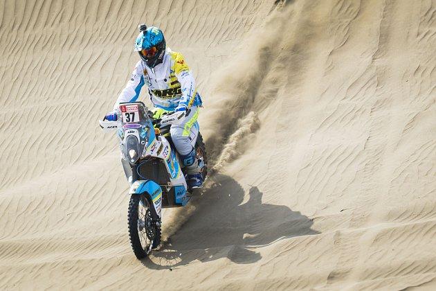 Milan Engel zJosefova Dolu jede na legendárním Dakaru letos už počtvrté.