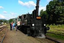 Lokomotiva byla postavena v roce 1913.