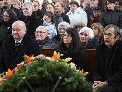 Lidé se rozloučili s Františkem Peterkou