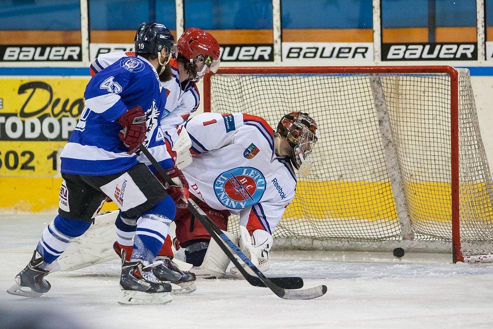 Utkání 1. kola 2. ligy ledního hokeje se odehrálo 13. září na zimním stadionu v Jablonci nad Nisou. Utkaly se týmy HC Vlci Jablonec nad Nisou a HC Letci Letňany.