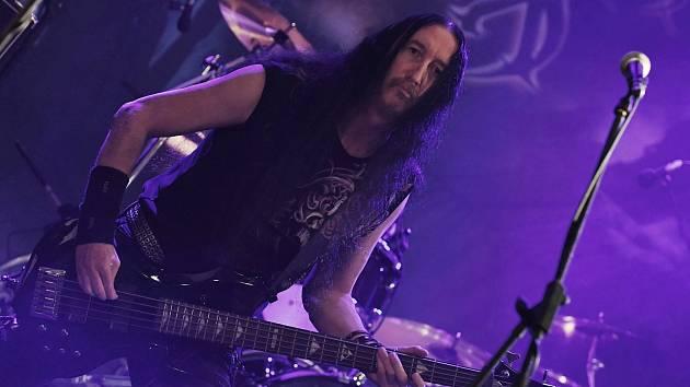 "Josef ""Dee Dee Chose"" Ivanič. baskytarista jablonecké kapely Dangar Six."