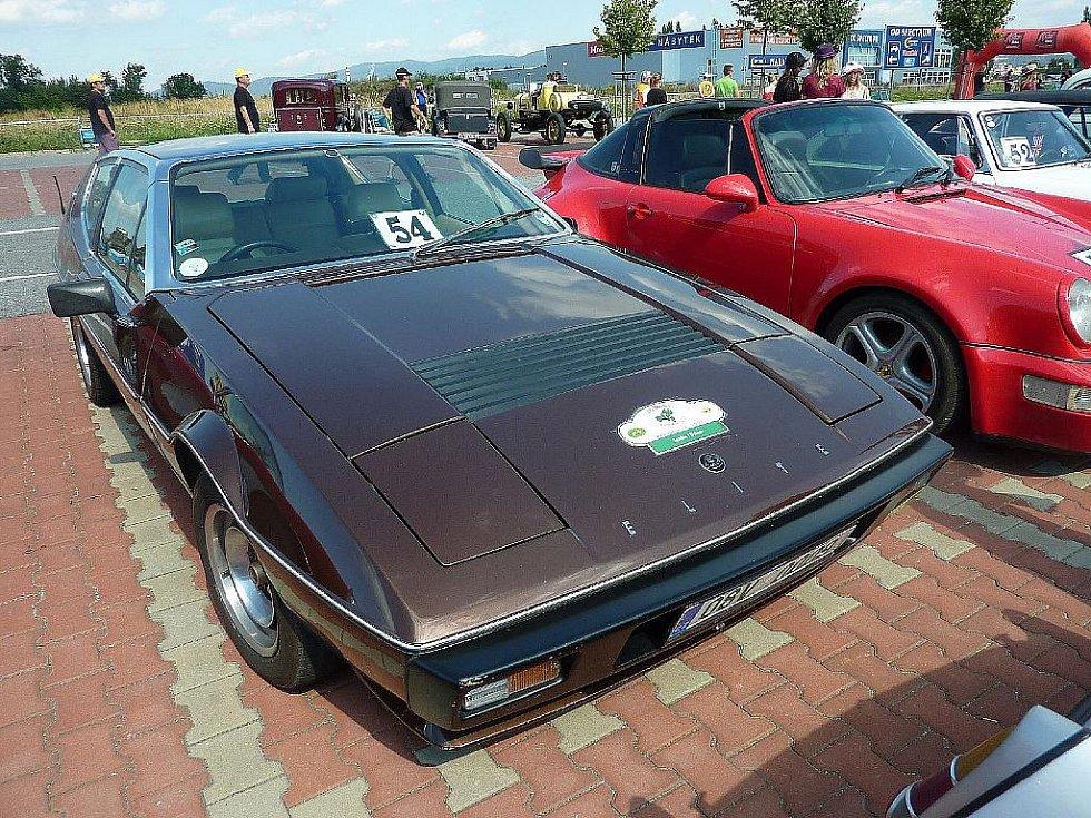 Lotus Elite II z roku 1978 smržovké posádky Jiří Hladík / Jiří Hladík