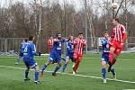První jarní zápas divize C na domácí půdě: Jiskra Mšeno A - FK Kolín 2:2 (0:0) PK 4:5.