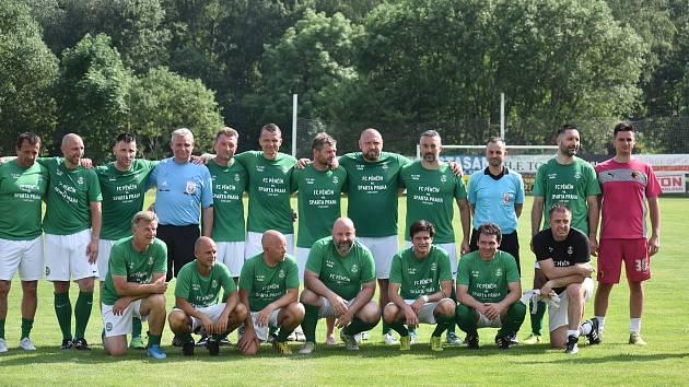 Fotbalisté v Pěnčíně.