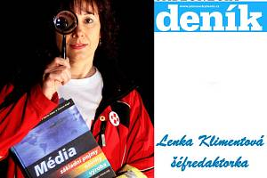 Lenka Klimentová, šéfredaktorka Jabloneckého deníku.