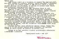 Originální podklad k soudničce Jana Sedláka