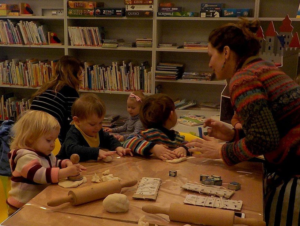 Nová Městská knihovna Železný Brod - konala se tu už jedna akce pro rodiče s dětmi