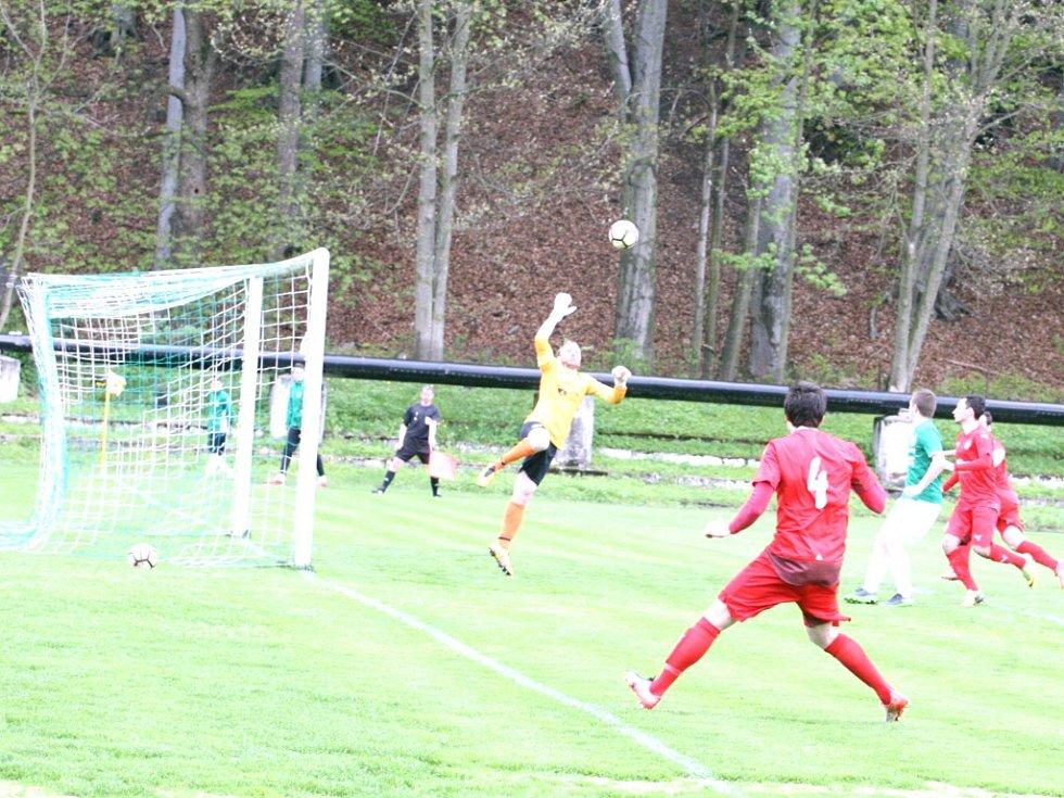 Velké Hamry A - Mšeno A 0:4.