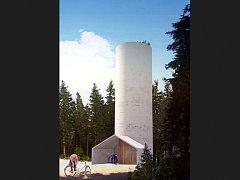 Rozhledna, která má vzniknout na Čertově hoře bude mít tubusový minimalistický design.